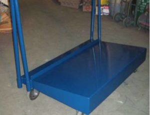 material handling plywood cart