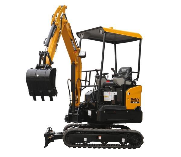 2 ton excavator