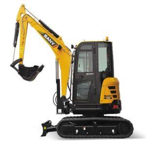 Three and a half ton mini excavator