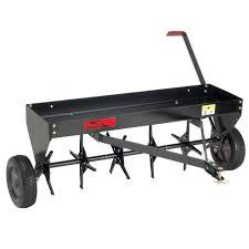 tractor drawn aerator