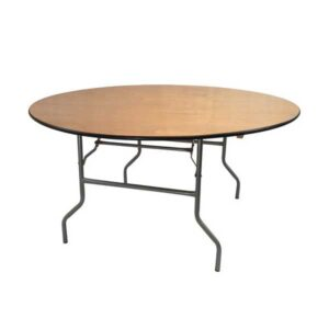 round portable table
